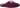 Elvira burgundy sammetstoffel med rosett