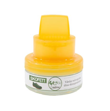 Skofett i neutral färg 50 ml återfettar och skyddar skinn