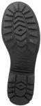 Bianca svart 192 skinnstövel med elastik bak