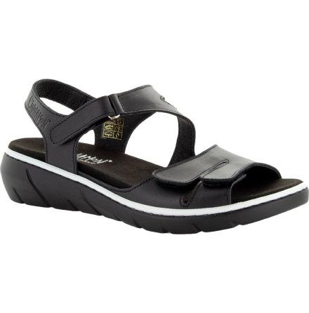 Marina svart sandal med kardborrar