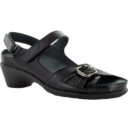 Ingrid svart sandalett med kardborre