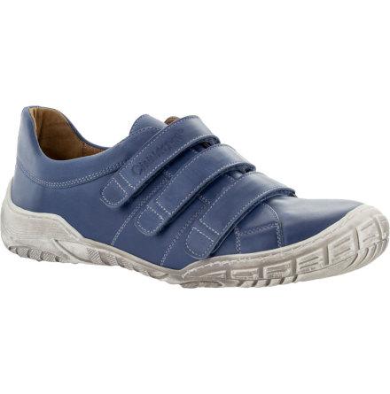 Hailey blå sko med kardborrar