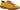 Mikaela gul snörsko i skinn