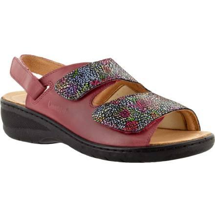Penelope mosaik mörkröd hallux valgus sandal avtagbar hälrem