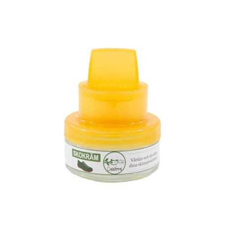 Skokräm i neutral färg 50 ml fräschar upp och skyddar skinn