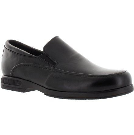 Rolf svart loafer i skinn