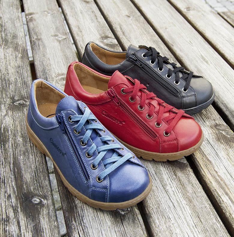 sneakers breda fötter