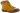 Tilly senapsgul varmfodrad snörkänga med fuskpäls