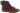 Tilly aubergine varmfodrad snörkänga med fuskpäls